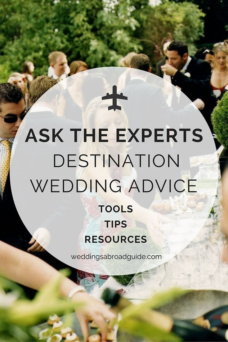 wedding abroad expert tips
