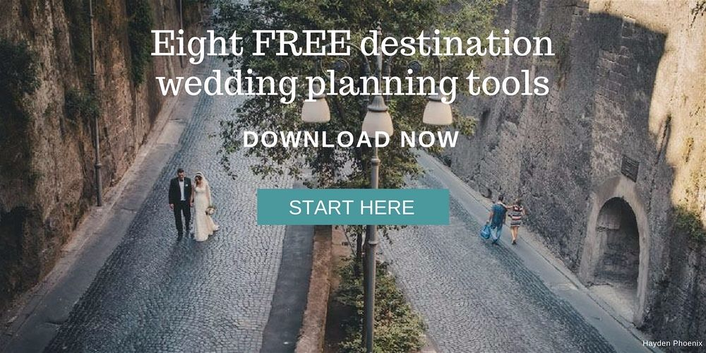 Download your Free Destination Wedding Planning Tools Kit and start planning your Wedding Abroad Today. weddingsabroadguide.com