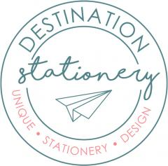 Destination Stationery by www.weddinginvitationdesigner.com