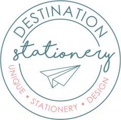 Destination Stationery by www.weddinginvitationdesigner.com