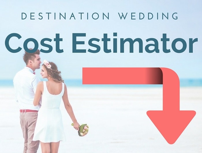 Destination wedding cost how much will it cost me for How to start planning a destination wedding