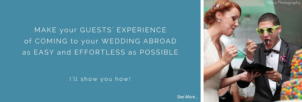 Destination wedding etiquette & guide information checklist for a wedding abroad // Horia Photography