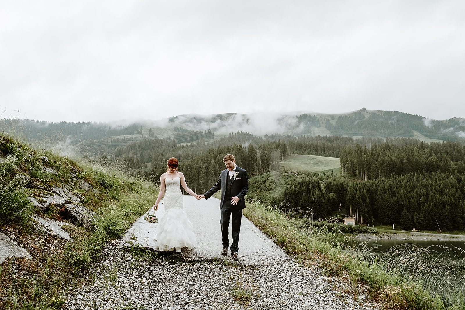 Austrian Intimate Wedding - Wild Connections Photography