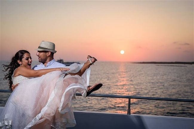 Exclusive Yacht Weddings Wedding & Reception Venues Cyprus