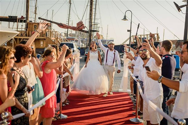 Exclusive Yacht Weddings Wedding & Reception Venues Cyprus