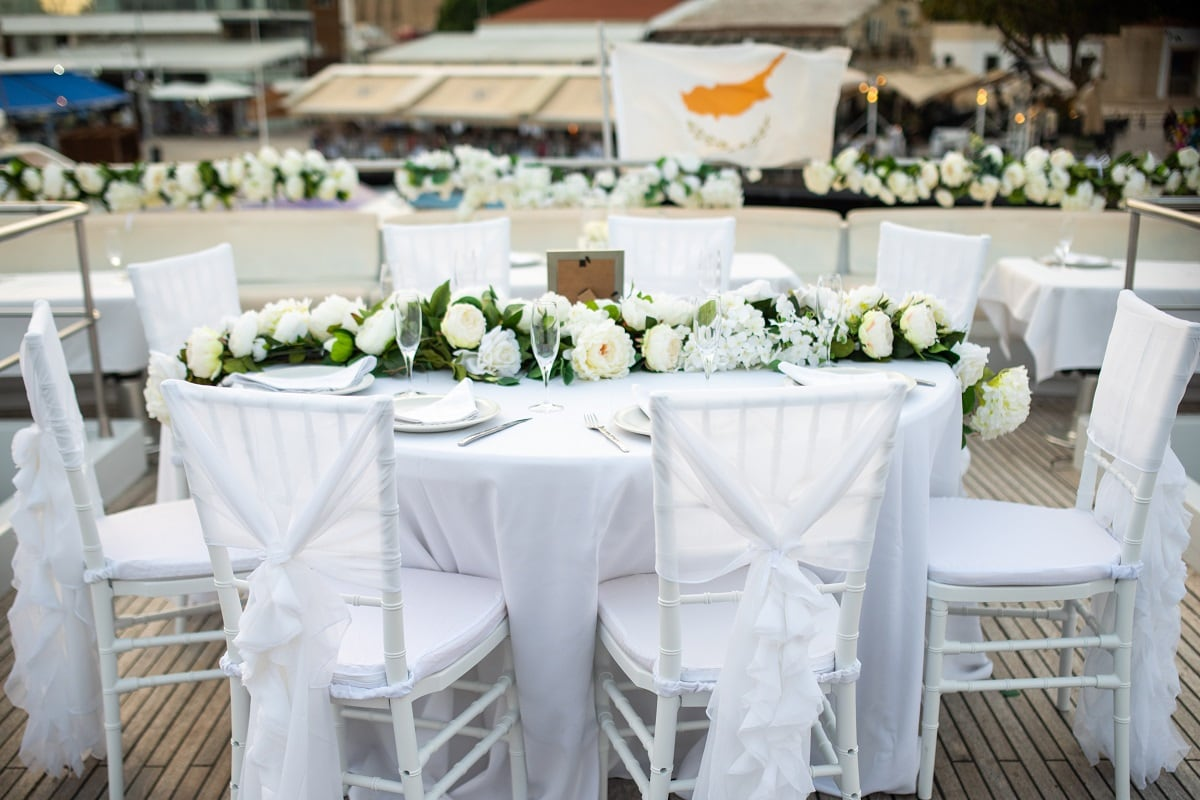 Exclusive Yacht Weddings Cyprus - Valued Member of Weddings Abroad Guide Supplier Directory