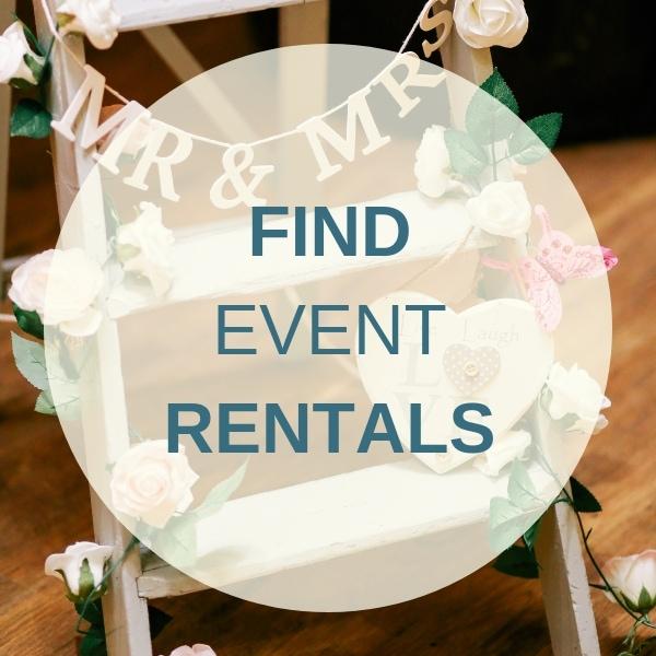 Find Destination Wedding Event Rentals