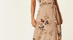 Destination Wedding Guest Style - Floral Maxi Dress