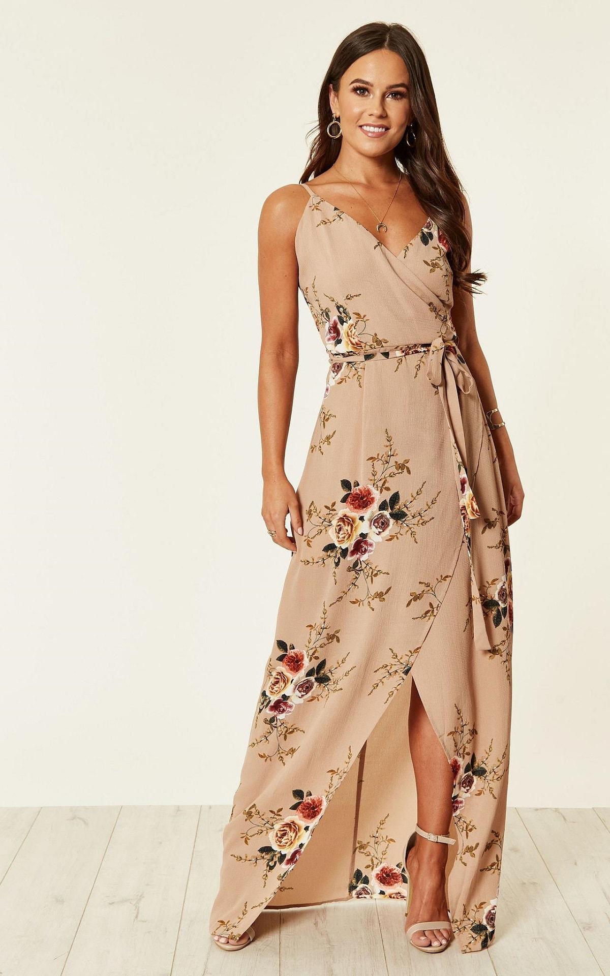 Destination Wedding Guest Styles - Floral Maxi Dress