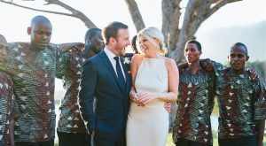 An African-Inspired Wedding