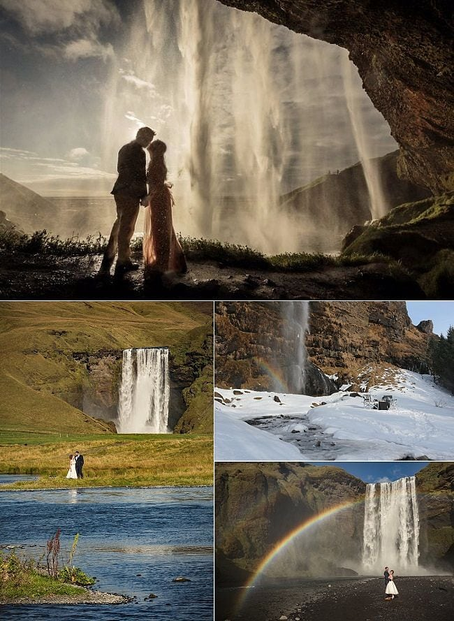 How to Get Married in Iceland - Destination Wedding Mini Guide, Including Best Time of Year, Popular Locations & Costs
