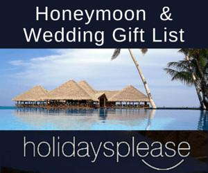 forum weddings abroad wedding brides gift list