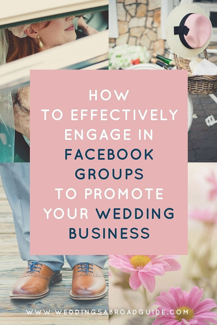 How To Advertise Your Wedding Photography Business: How To Use Facebook Groups To Promote Your Wedding Business