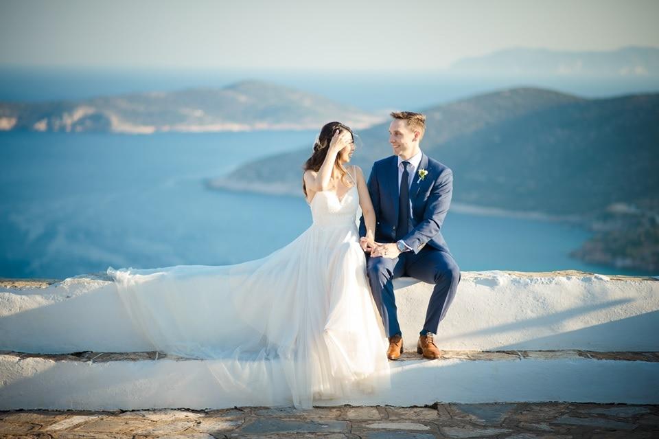 I Love Sifnos Wedding & event Planner Sifnos Greece - Elizabeth & Hendric Testimonial