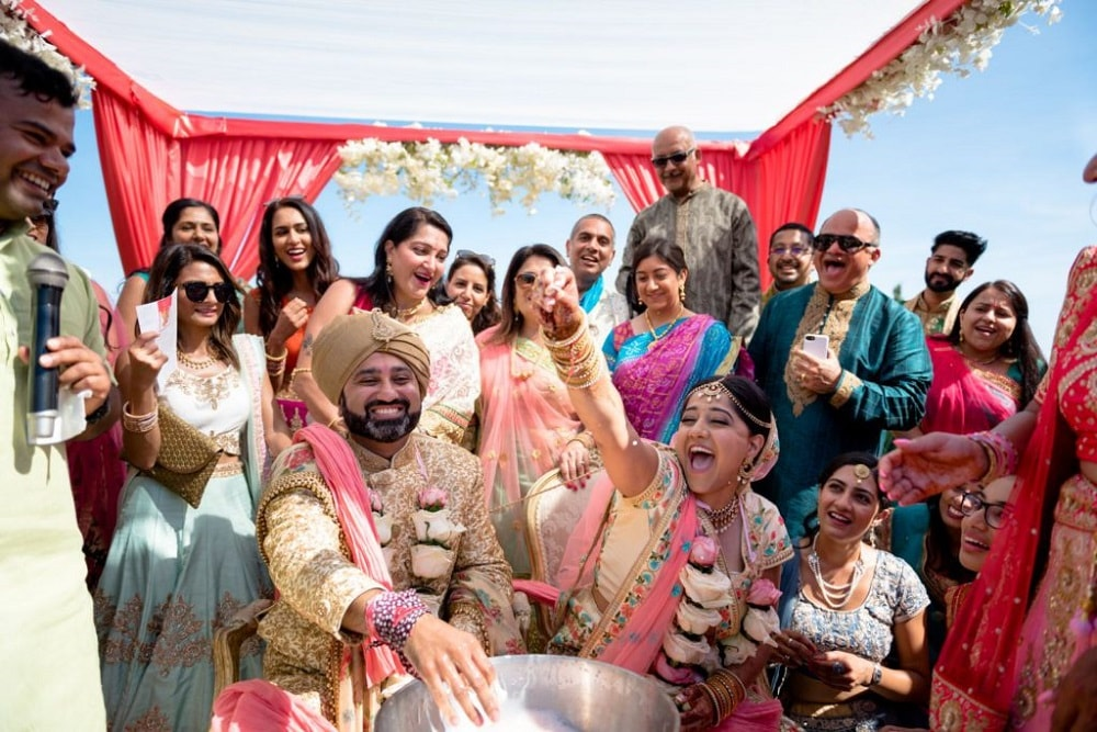 Tina & Jay's Indian Wedding in Spain | Barcelona Brides | Photography by Ed Pereira