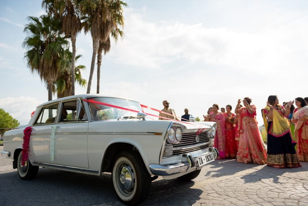 Tina & Jay's Hindu Wedding At Dolce Sitges | Planning by Barcelona Brides | Photography by Ed Pereria