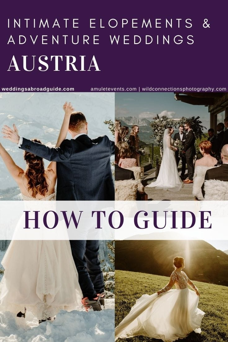 Getting Married in Austria Mini Guide- Small, Intimate Destination and Adventure Wedding Location in Europe - Amulet Weddings & Events Wild Connections Photography