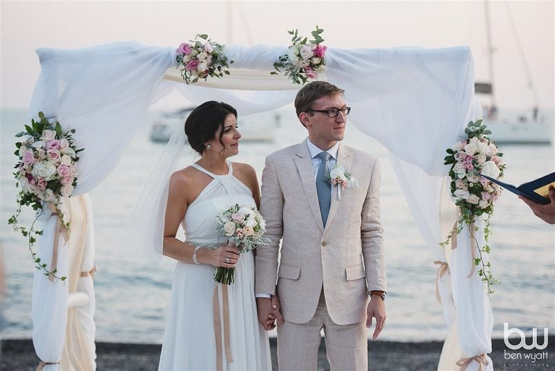 JS Divine Events Wedding Planner & Floral Design Greece (photography Ben Wyatt) member of the Destination Wedding Directory by Weddings Abroad Guide