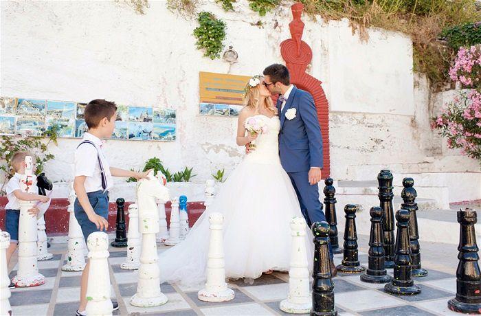 Elegant Kea Greek Island Wedding by MarryMe in Greece Photography by Fotini Romaliadou