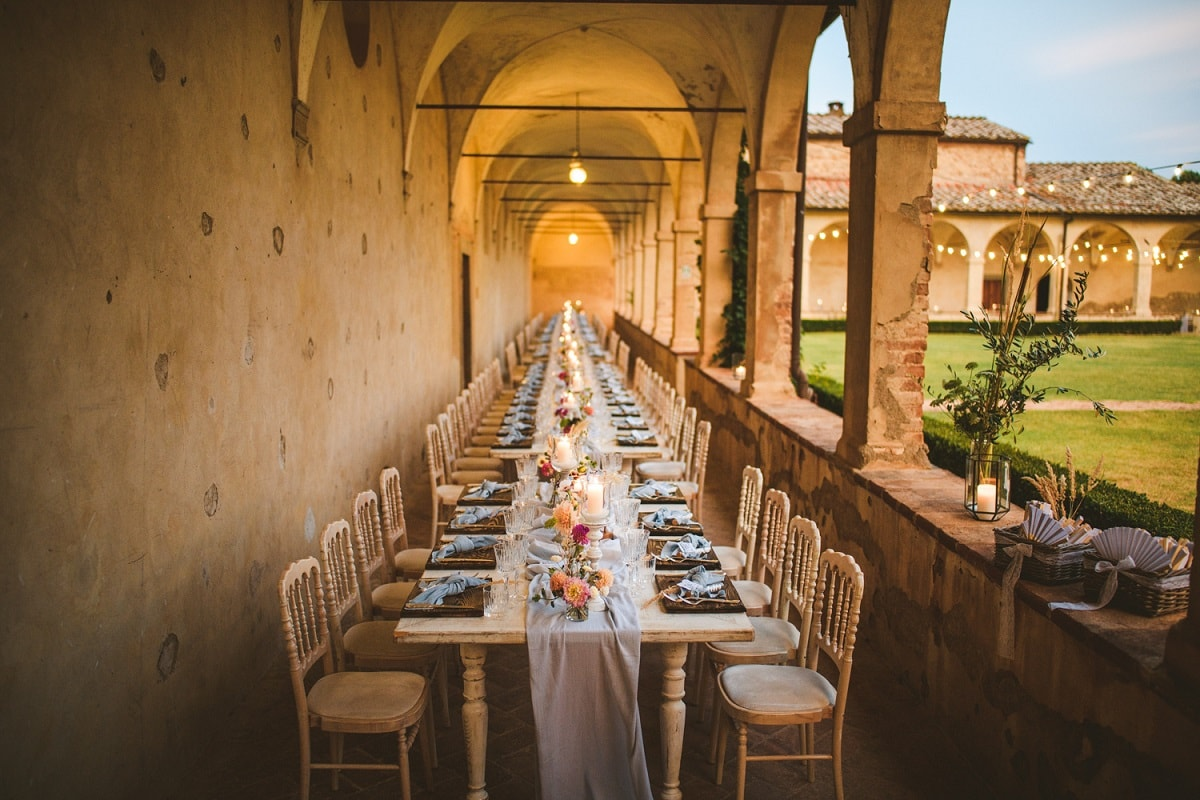 La Certosa Wedding Venue in Tuscany Italy | Valued Member of Weddings Abroad Guide Supplier Directory