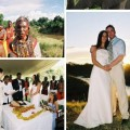 real wedding i Kenya Leanne and Wayne