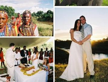 Wedding Gift Ideas Kenya : Real Weddings in Kenya - Leanne and Wayne, Masai Mara