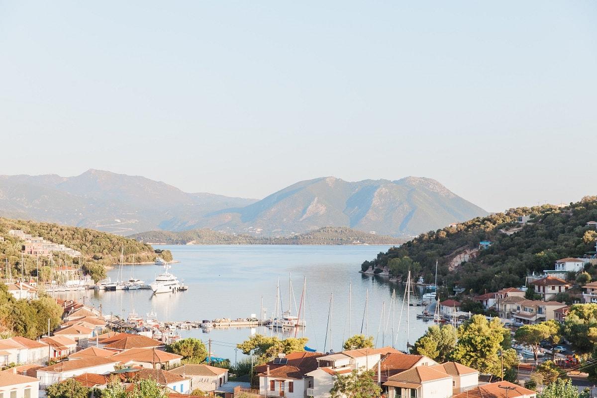 Rich & Connie's Greek Island Wedding Abroad   Planned by Lefkas Weddings   Maxeen Kim Photography