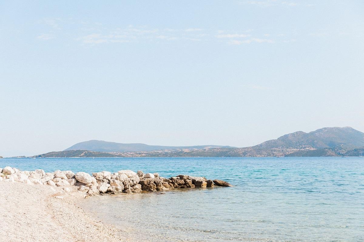 Beach Wedding Ceremony Lefkas Greece - Greek Wedding Abroad   Planned by Lefkas Weddings   Maxeen Kim Photography