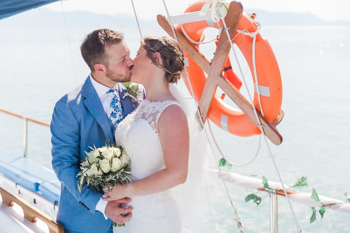 Unique Ionian Islands Wedding in Greece - Covid Q & A | Planned by Lefkas Weddings | Maxeen Kim Photography