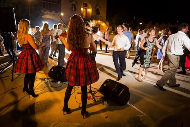 Licence to Ceilidh - London's top Ceilidh Band available for your Wedding Abroad - member of the Destination Wedding Directory by Weddings Abroad Guide