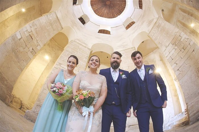 "Louise & Matt organised their own chilled ""treehouse"" wedding in Zadar. Read their story & find out tips on how to plan a wedding in Croatia"