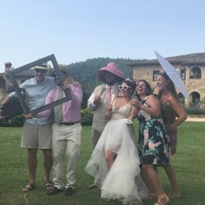 Manuela Corrente Weddings testimonial of James and Alainna wedding in Tuscany.