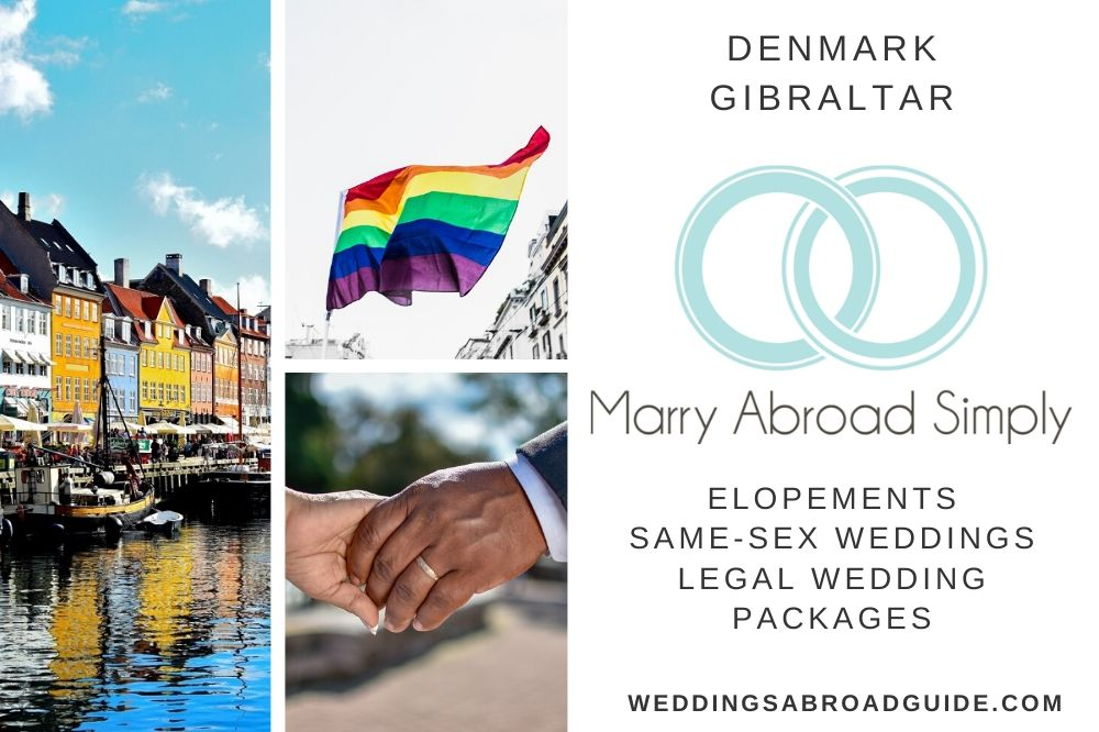 Marry Abroad Simply - Denmark & Gibraltar - Featured Wedding Supplier - Weddings Abroad Guide