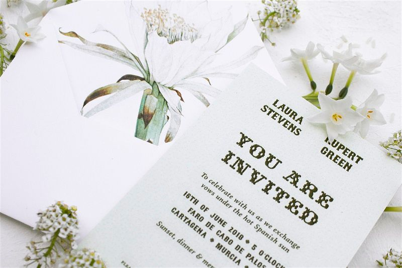 Oficina Primavera Bespoke Illustrated Wedding Invitations & Stationery