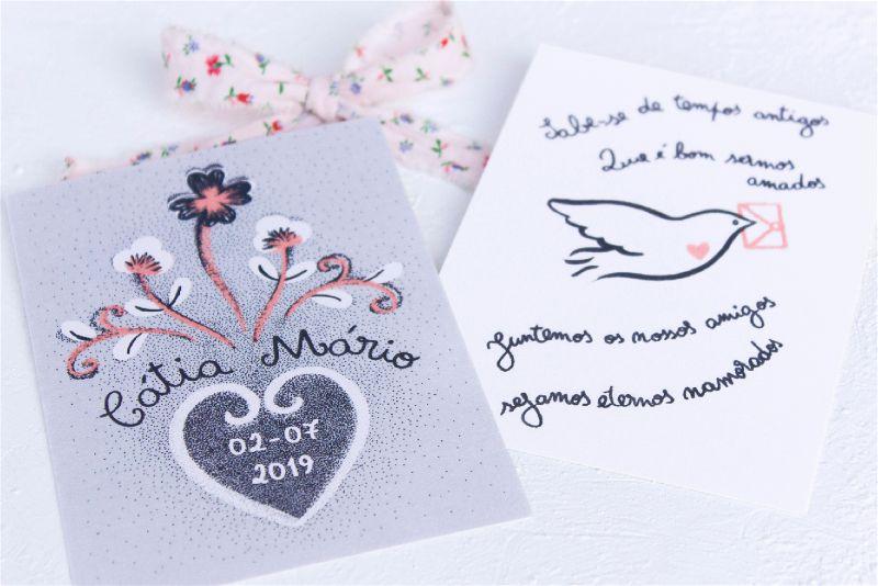 Oficina Primavera Bespoke Illustrated Wedding Invitations & Stationery