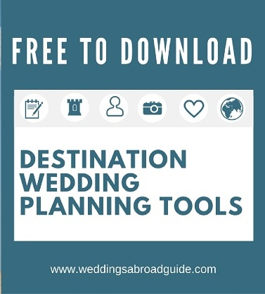 free destination wedding planning tools for your wedding abroad