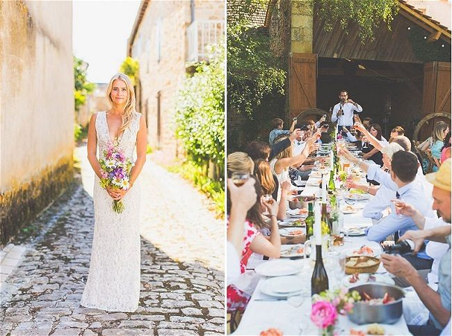 Wedding in France Mini Guide | Image: Polly & Andrew's Wedding in France | Wedding Planner: Your Wedding Planner France