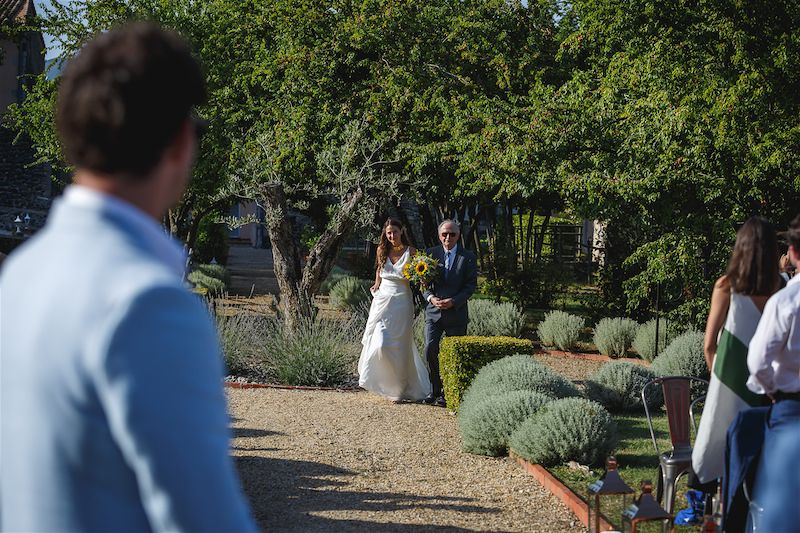 Rachel & Sam's Provence Chateau Wedding - Chateau du Bijou - Kerry Morgan Photography