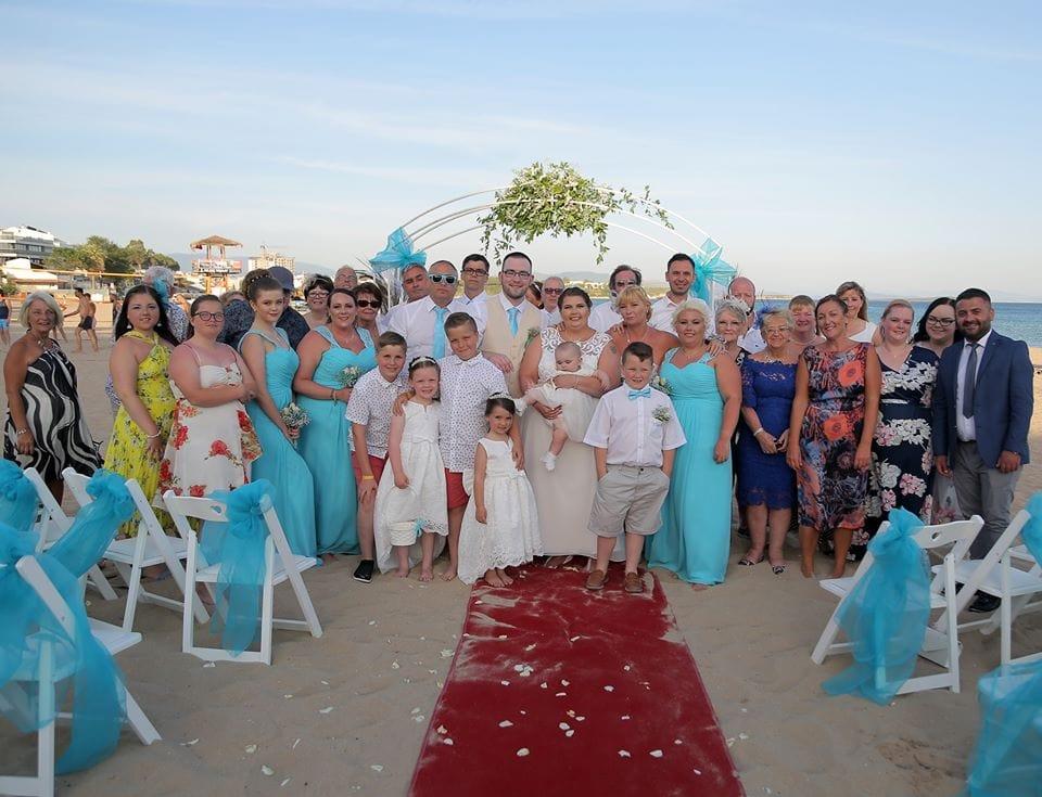 E&J's Beach Wedding Altinkum Turkey Real Destination Wedding Cost Breakdown | Let's Group Wedding Turkey