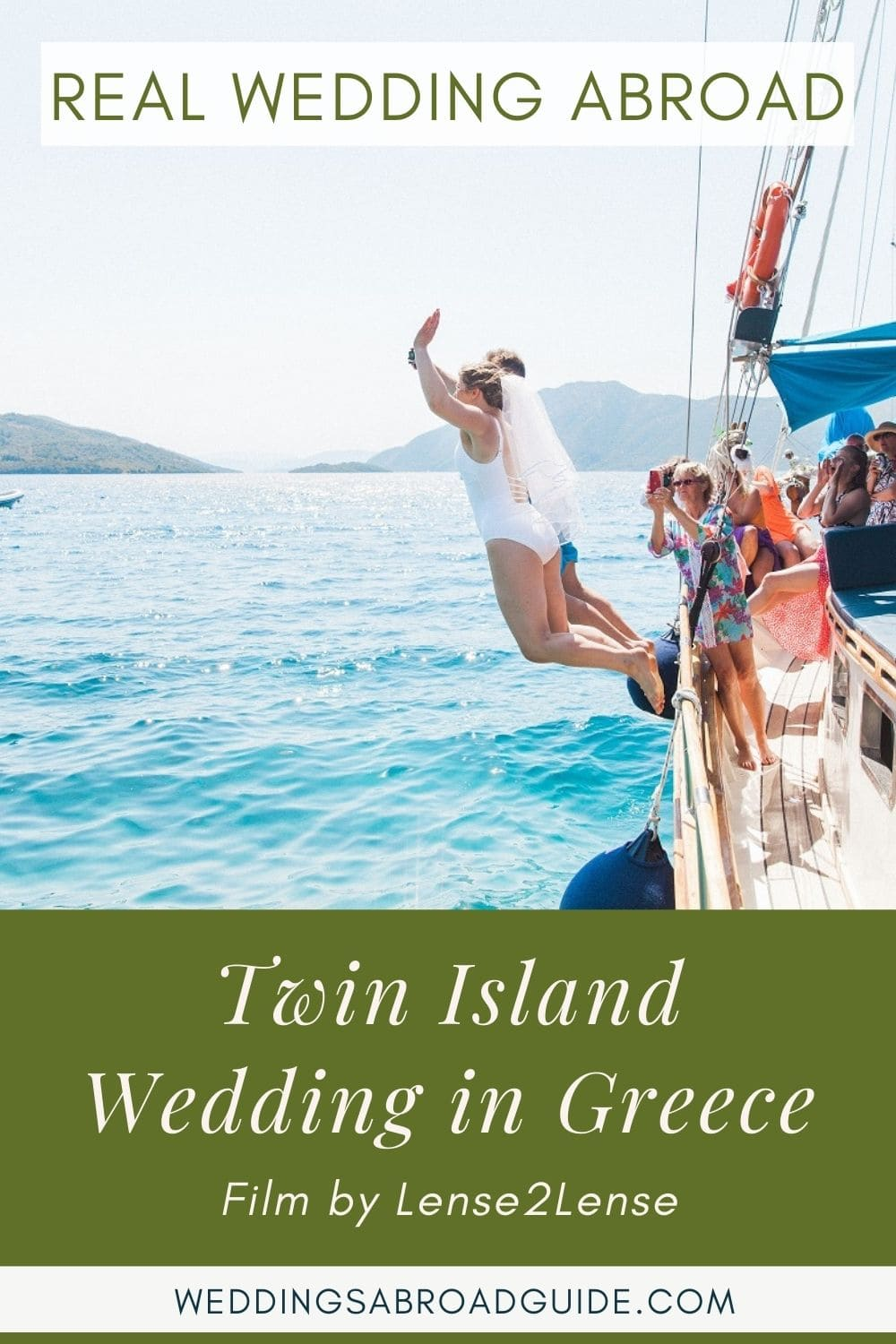 Intimate Real Wedding Abroad in Greece   Planned by Lefkas Weddings   Maxeen Kim Photography   Lense2Lense Videography