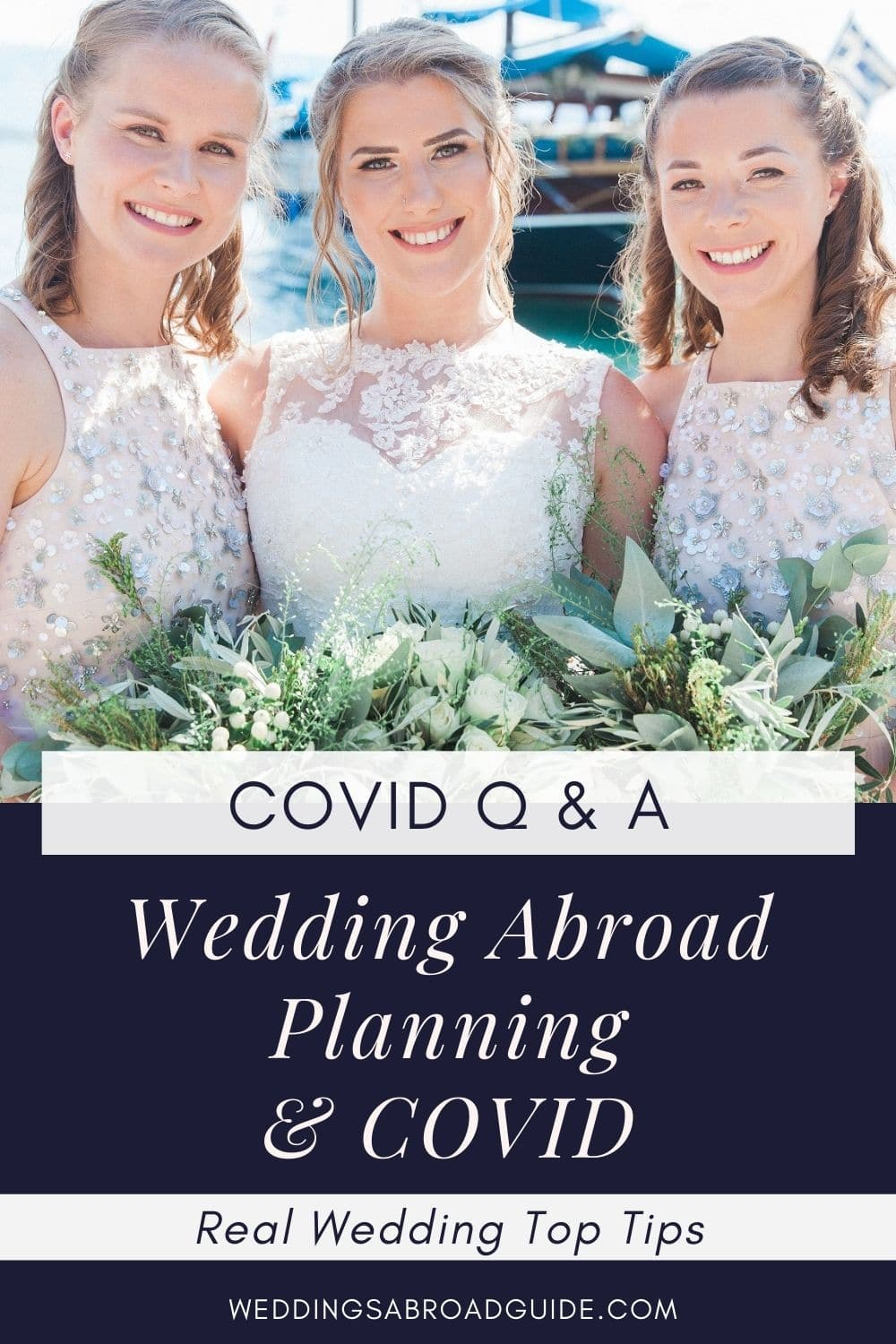 Real Wedding Abroad in Greece- Covid Q & A | Planned by Lefkas Weddings | Maxeen Kim Photography