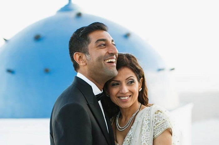 Rita & Ajay's Indian Wedding in Greece planned by MarryMe in Greece photography by Nikos Gogos videography by Artifact Project