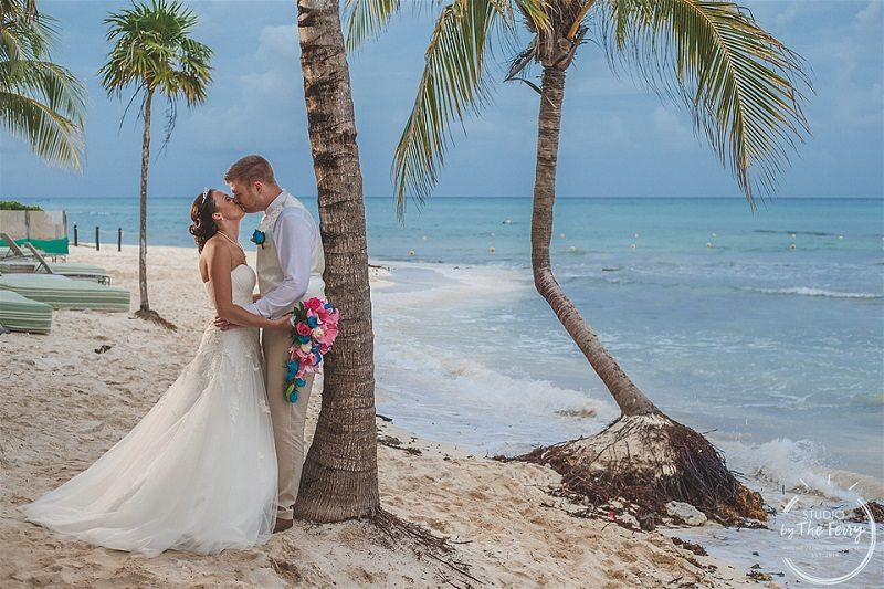 Ian & Nicole's Intimate Riviera Maya Wedding, Mexico at Sandos Eco Resort & Spa, Photography by The Studio by the Ferry