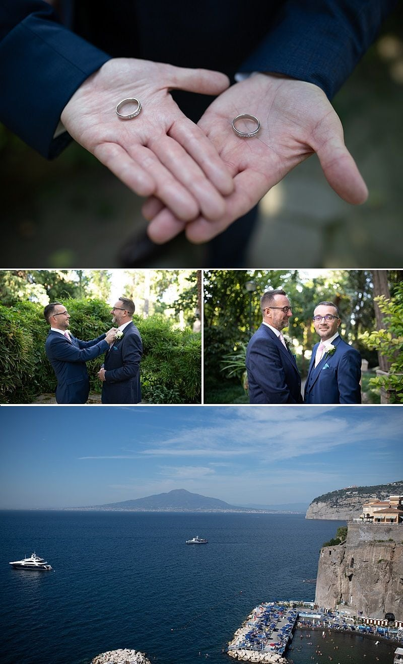Let Accent events help you with the legal requirements for your Same Sex Civil Union in Italy - find our more here: photography Alfonso Longobardi