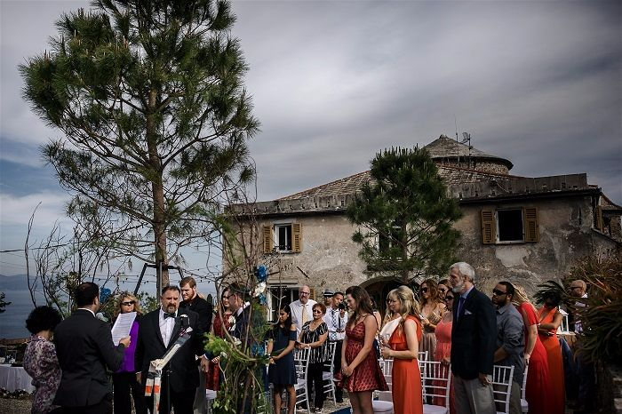 Joe & Joe's Same Sex Wedding on the Italian Riviera Planned by Accent Events Photography by David Bastianon