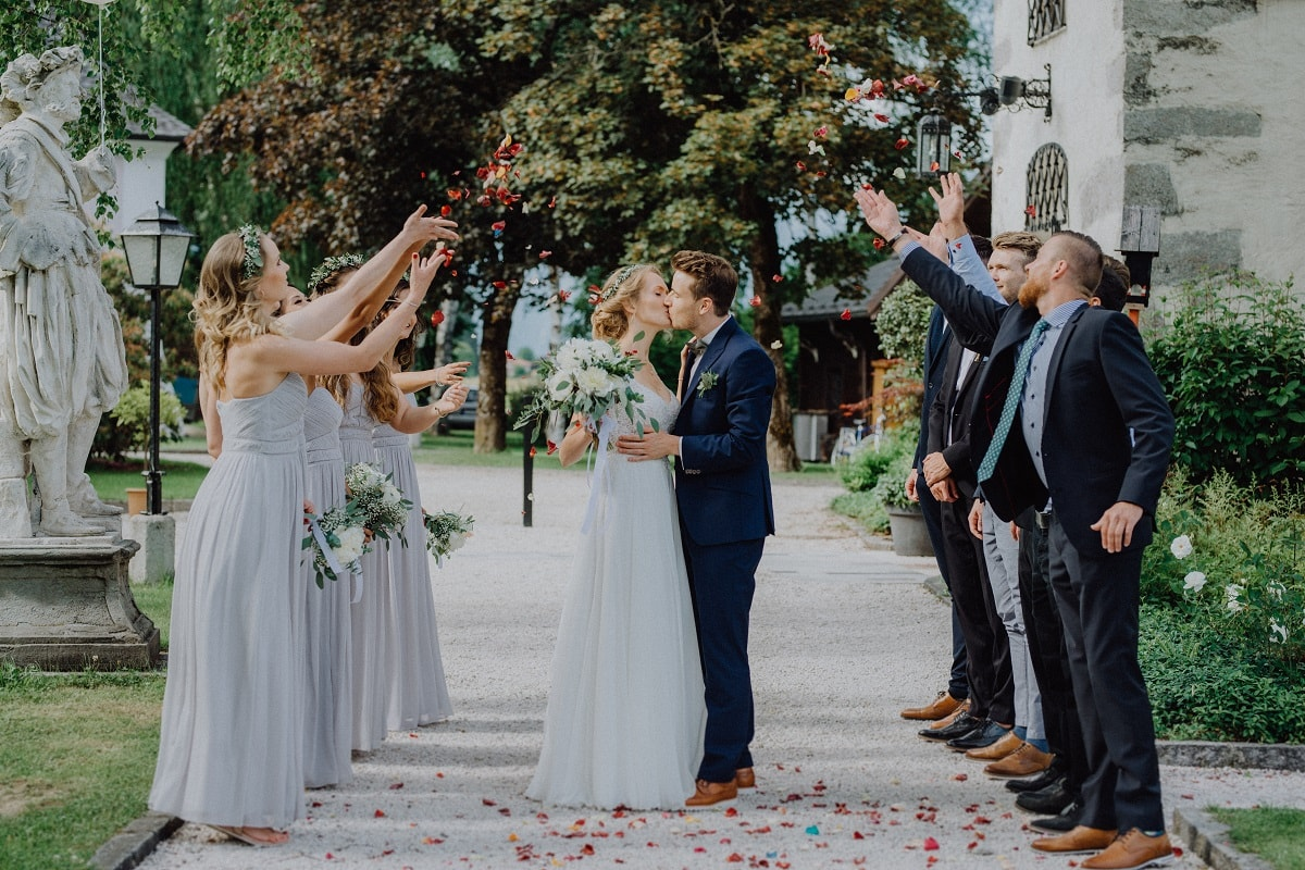Schloss Prielau Castle Wedding Venue Zell am See Austria, (Maria Pirchner Fotografie) member of the Destination Wedding Directory by Weddings Abroad Guide