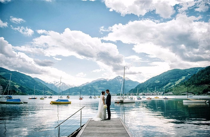 Schloss Prielau Wedding Venue Zell am See Austria