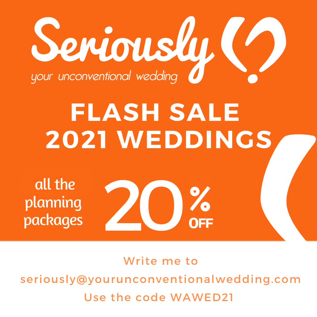 Seriously - Wedding Planner Tuscany, Italy for those looking for the unconventional !