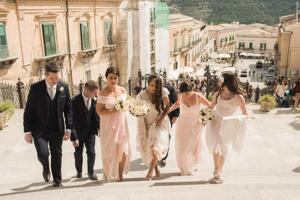 Stephen & Amanda's Irish American Catholic Wedding in Sicily Planned by Sicilian Wedding Day Photography by Gianmarco Vetrano