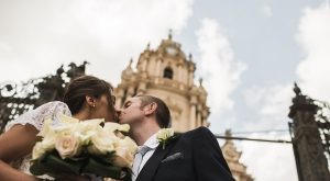Stephen & Amanda's Irish American Catholic Wedding in Sicily Planned by Sicilian Wedding Day Photography by Gianmarco Vetrano